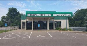 chiropractor dr dan office building exterior